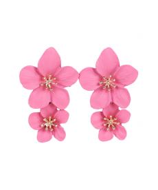 Yaz Plaj Küpe Modelleri 5 Cm Çiçek Küpe