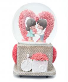 Kalpli Romantik Aşk Müzük Kutusu Bayan Sevgiliye Hediyeler