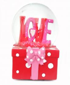 Love Kırmızı Müzik Kutusu Sevgiliye Romantik Hediyeler