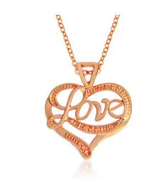 Love Romantik Kolye Yeni Model Kalp Hediyelik Kolye Modelleri