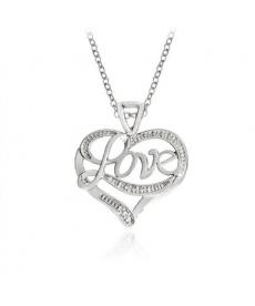 Love Romantik Kolye Yeni Model Kalp Sevgiliye Hediyelik Kolyeler