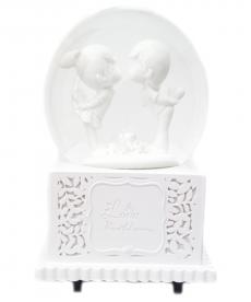 Romantik Sevgili Beyaz Müzik Kutusu Sevgiliye Hediyelik Eşyalar