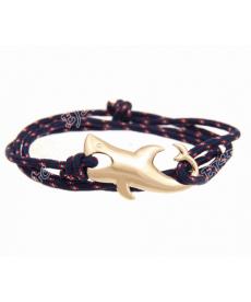 Lacivert Halat Köpekbalığı Bileklik Modelleri Takı Aksesuar