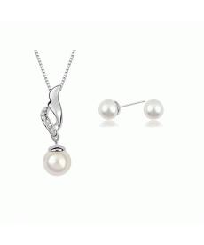 Yeni Takı Modelleri Gümüş Kaplama İmitasyon İnci Takı Setleri