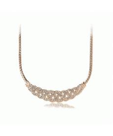 Yeni Sezon Moda Takı Trendy Kristal Taşlı Bayan Kolye Modelleri
