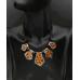 Bayanlar İçin Moda Takı Katmanlı Deri Zincir Bohemia Leopard Kolye